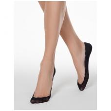 Conte ELSI IS003 lygios neslystančios pėdutės banguotais kraštais - vienas dydis