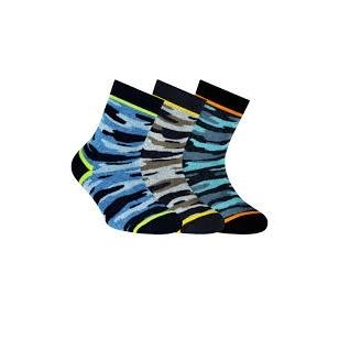 Conte Kids Tip-Top linksmos spalvingos kojinės vaikams Kareiviškos