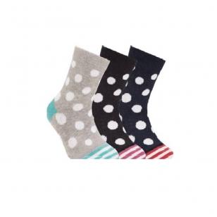 Conte Kids Tip-Top linksmos spalvingos kojinės vaikams Taškučiai