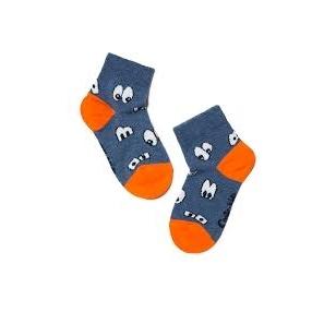 Conte Kids Tip-Top linksmos spalvingos kojinės vaikams Akytės