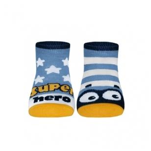 Conte Kids Tip-Top spalvingos kojinės vaikams Akytės ir Žvaigždutės