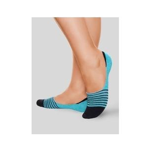 Conte klasikinės moteriškos spalvotos pėdutės - turkio