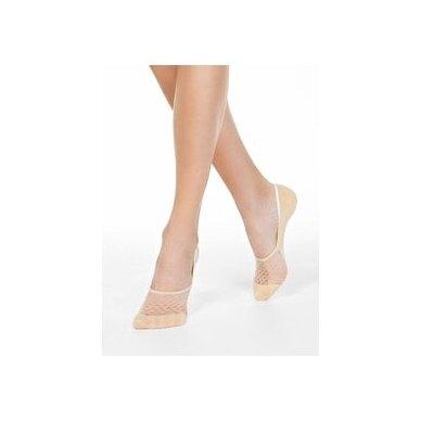 Conte ESLI IS007 Invisible pėdutės su permatoma dalimi - vienas dydis 6