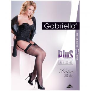 Gabriella Plus Size Katia 20 den prisegamos kojinės