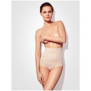 Gatta Bikini High Waist - moteriškos koreguojančios besiūlės kelnaitės aukštu liemeniu
