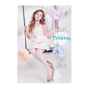 Gatta Little Princess Line Alice taškuotos plonos pėdkelnės jaunoms damoms