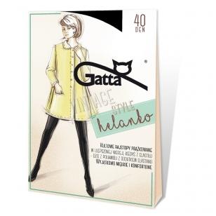 Gatta Vintage Style Helanko storesnės, dryžuoto audimo pėdkelnės
