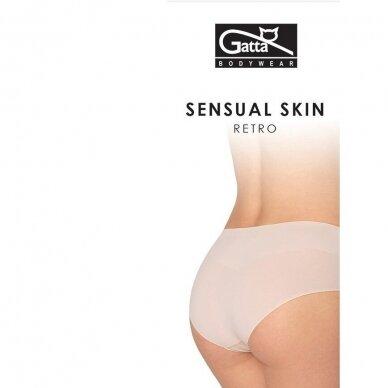 Gatta Sensual Skin Retro itin plonos kelnaitės 2