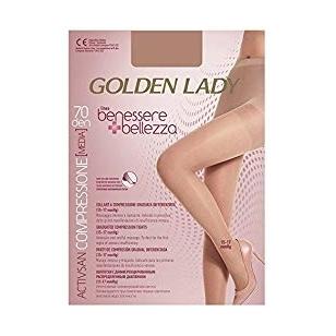 Golden Lady Benessere kompresinės pėdkelnės kojoms su išsiplėtusiomis venomis 70 den