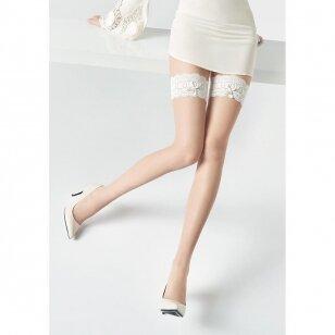 Marilyn COCO I16 prilimpančios kojinės nuotakoms