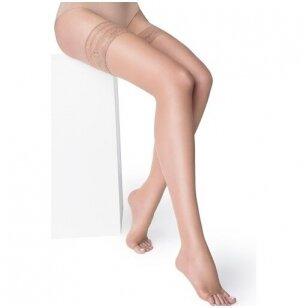 Marilyn Nudo NF 15 denų bepirštės prilimpančios kojinės