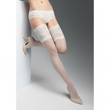 Marilyn PARIS 03 prilimpančios kojinės nuotakoms 2