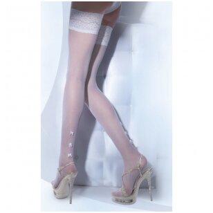 Puošnios limpamos kojinės Wedding by Gatta Bella Donna 01