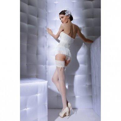 Puošnios prilimpančios kojinės Wedding by Gatta Bella Donna 03 2