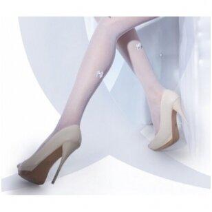 Raštuotos prilimpančios kojinės Wedding by Gatta Bella Donna 02