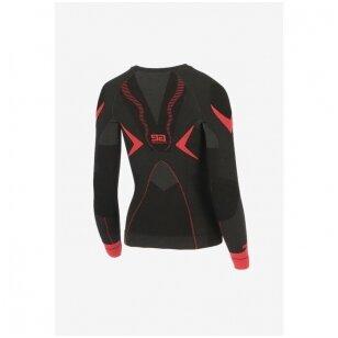 THERMOACTIVE drabužiai - moteriški THERMO PLUS marškinėniai ilgomis rankovėmis