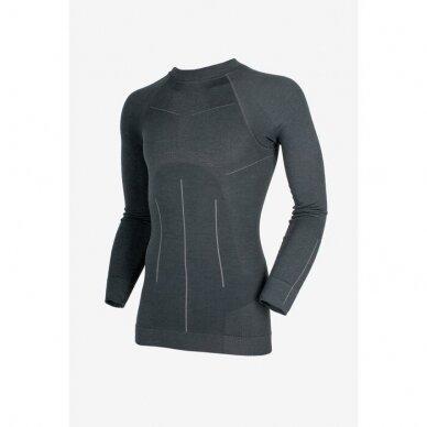 THERMOACTIVE MERINO WOOL - vyriški merino vilnos termo marškinėniai ilgomis rankovėmis