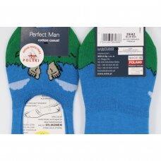Wola Perfect Man medvilninės pėdutės - Pėdos