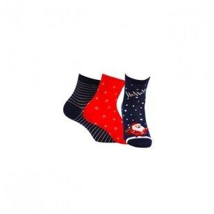 Wola kojinės kalėdinėje pakuotėje (3 vnt.) - 1 variantas