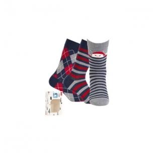 Wola vyriškos kojinės kalėdinėje pakuotėje (3 vnt.) - 2 variantas