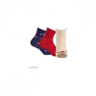 Wola moteriškos kojinės kalėdinėje pakuotėje (3 vnt.) - 2 variantas