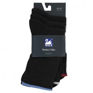 Wola Perfect Man 3-pack vyriškos kojinės (3 poros)