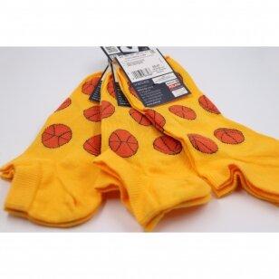 Wola Perfect Man medvilninės kojinės iki kulkšnių - Krepšinis
