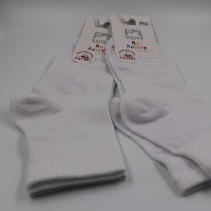 Wola Be Active lygios medvilninės moteriškos kojinės