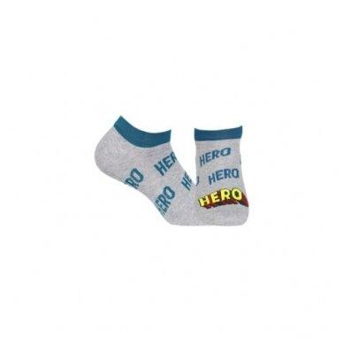 Wola Perfect Man medvilninės kojinės iki kulkšnių - Hero